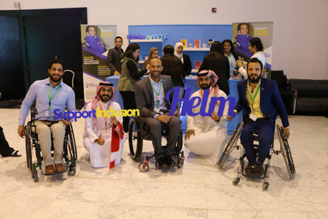 Inclusive Event Experience – World Youth Forum, Sharm El Sheikh, 2018