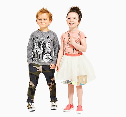 campaign for children's apparel