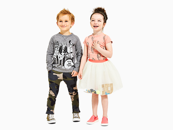 campaign for children's apparel