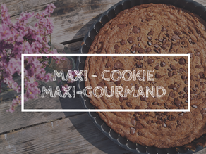 Maxi-cookie/maxi-gourmand
