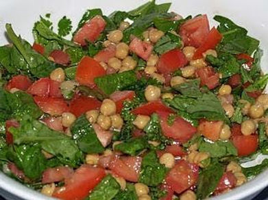 spiced chickpea spinach salad.jpg