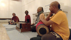 A Kirtan program for the locals while travelling around Country NSW.