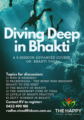 The Diving Deep in Bhakti Course