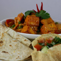 Cottage cheese curry
