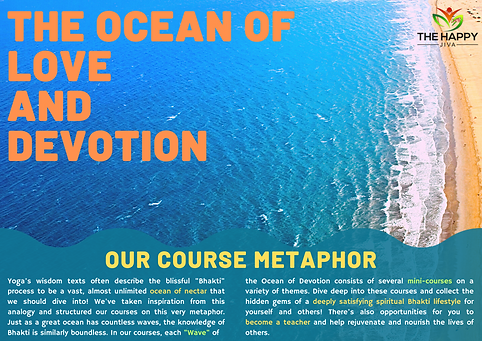 The Happy Jiva Course Metaphor