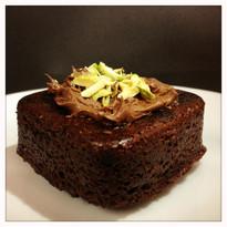 Carob brownie