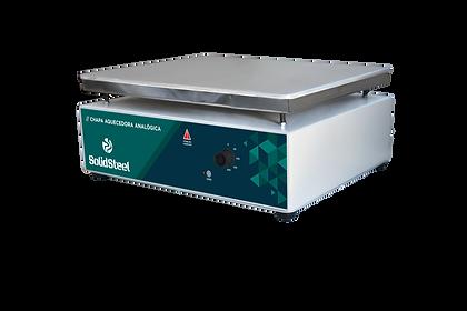 chapa aquecedora analógica para laboratórios