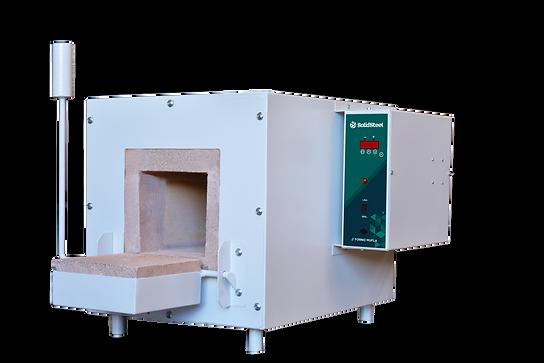 forno mufla para até 1200°C com controlador digital