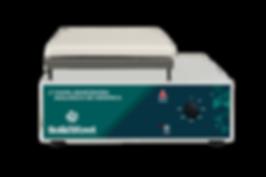 chapa aquecedora cerâmica para laboratórios com controle analógico