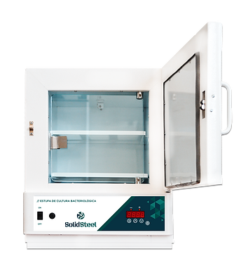 estufa laboratorial para cultura de bactéris com porta interna de vidro temperado