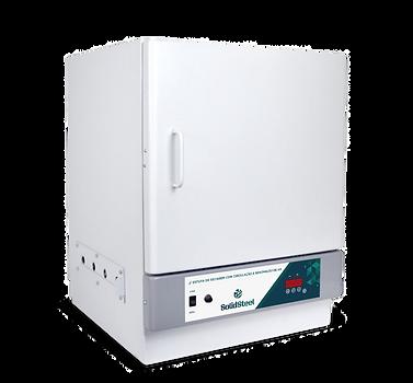 estufa laboratorial com pid, circulação de ar e renovação de ar