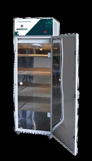 incubadora refrigeada em aço carbono com o interior em inox