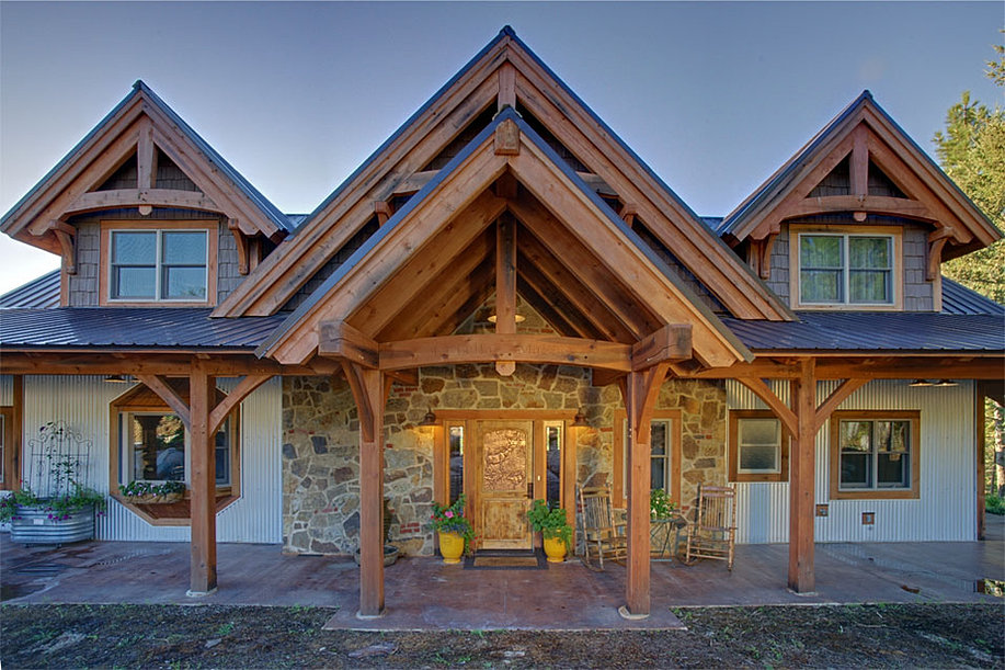 timber frame home