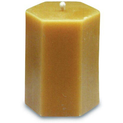 "Beeswax 3"" X 3.5"" Pillar Candle"