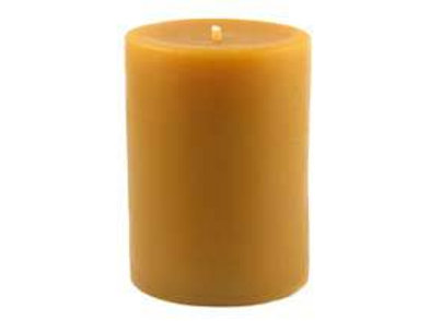 "Beeswax 3"" X 6"" Pillar Candle"