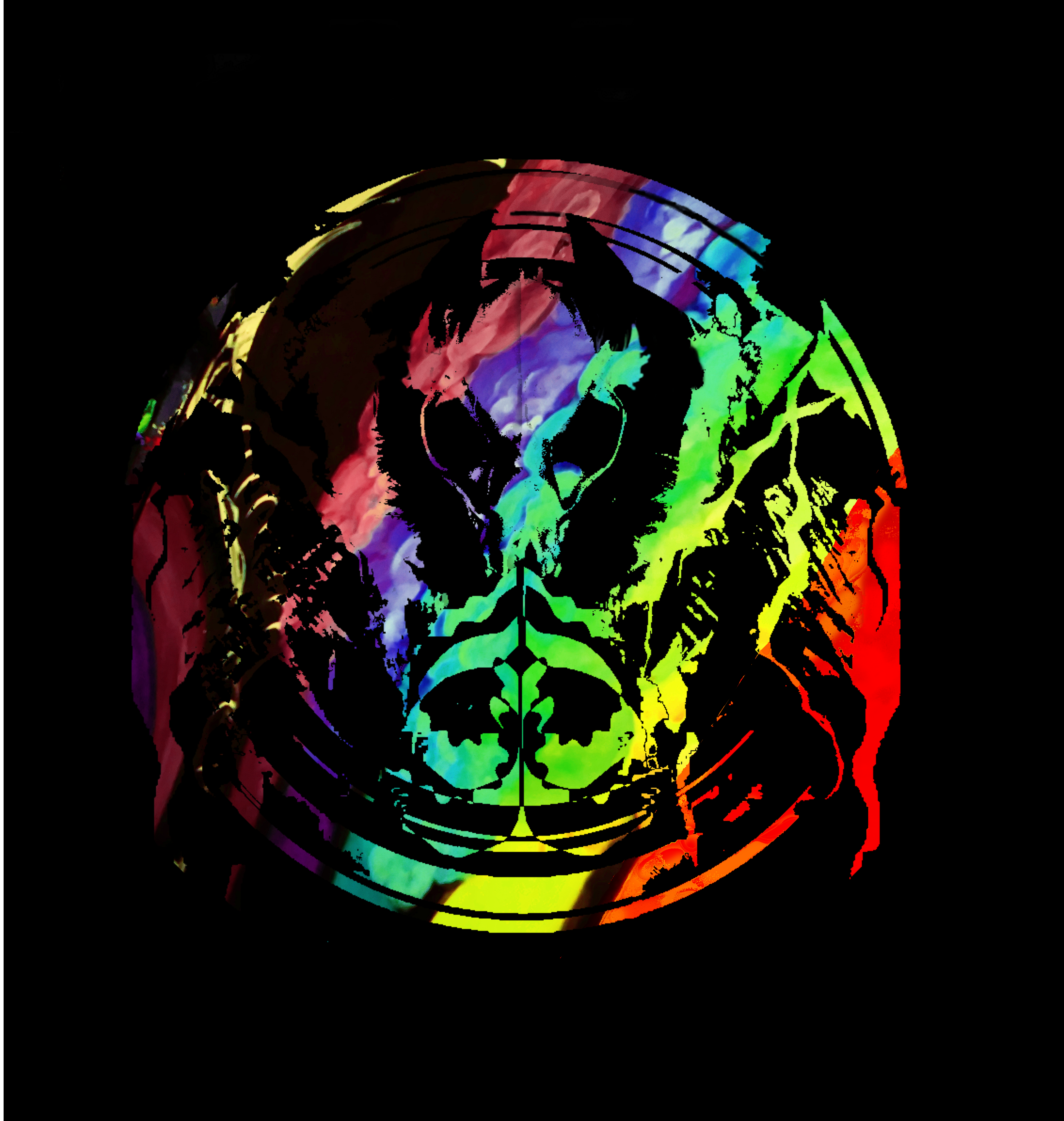 Black Rainbow album cover & new logo