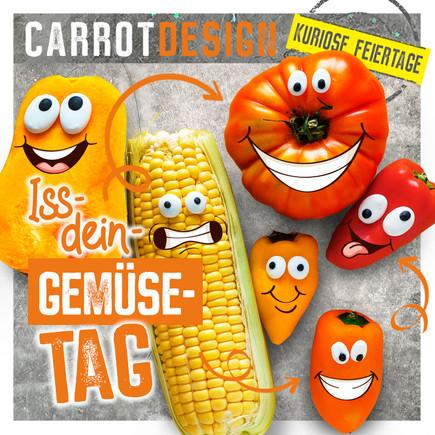 Iss-Dein-Gemüse-Tag in den USA