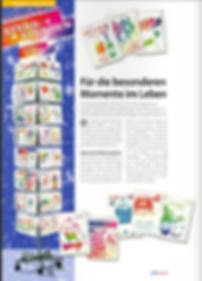 Grußkartenserie Sternstunden von CarrotDesign, Produziert Grußkartenverklag Horn