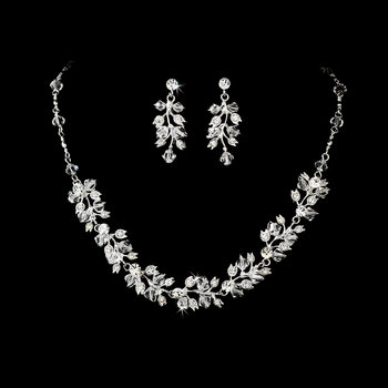 Couture Bridal Necklace & Earring NE 663