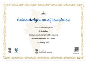 Government of India - Infection Preventi
