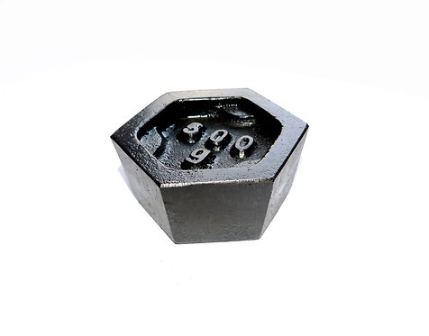 0.5kg UKAS Hex Test Weight