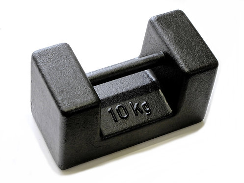 10Kg Bar Weight M1, M2 or M3