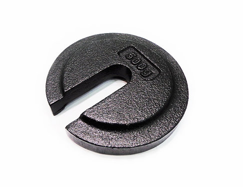 0.5Kg Trade Approved Slotted Weight