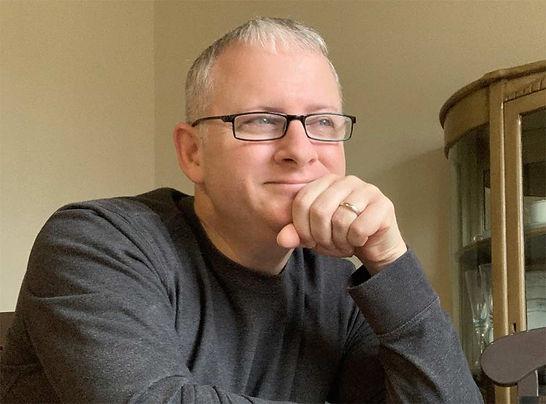 Author Eddie Turner Looking Up Living in