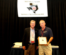 TX Safety Award - Marshall Construction