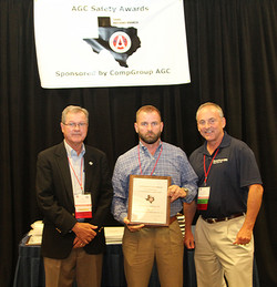 TX Safety Award - Cadence McShane Construction