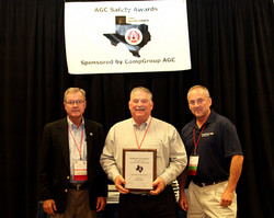 TX Safety Award - Baker Drywall