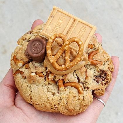 PB, Caramel Pretzel Cookie