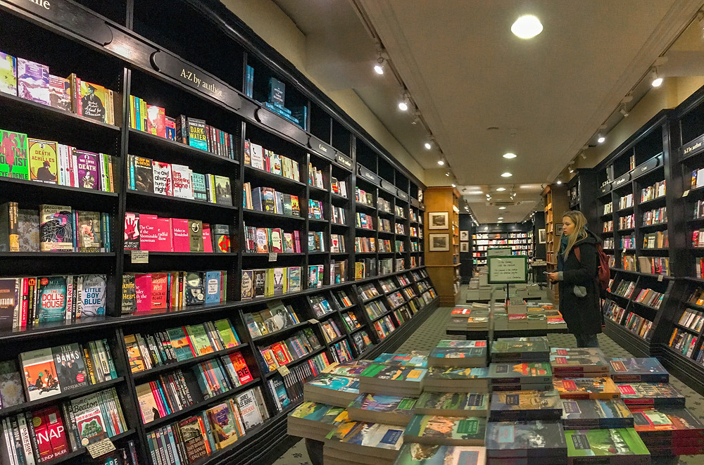 Hatchards book shop in London