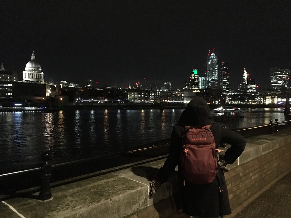 London during nighttime