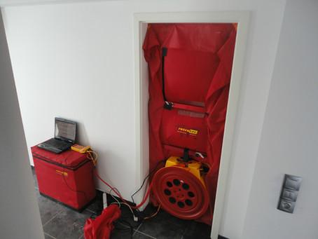 Blower Door Test, Infrared Camera Audit