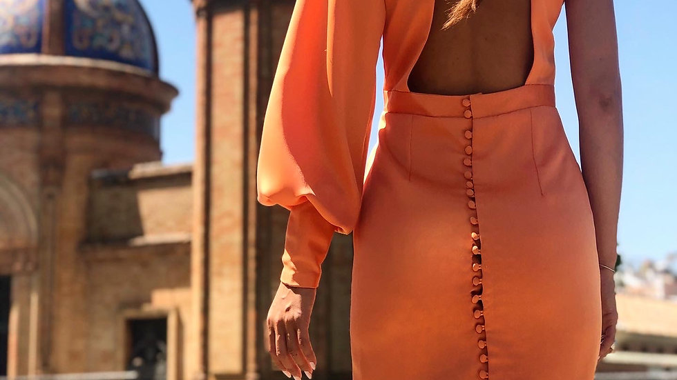 "Midi Dress ""Calatea"""