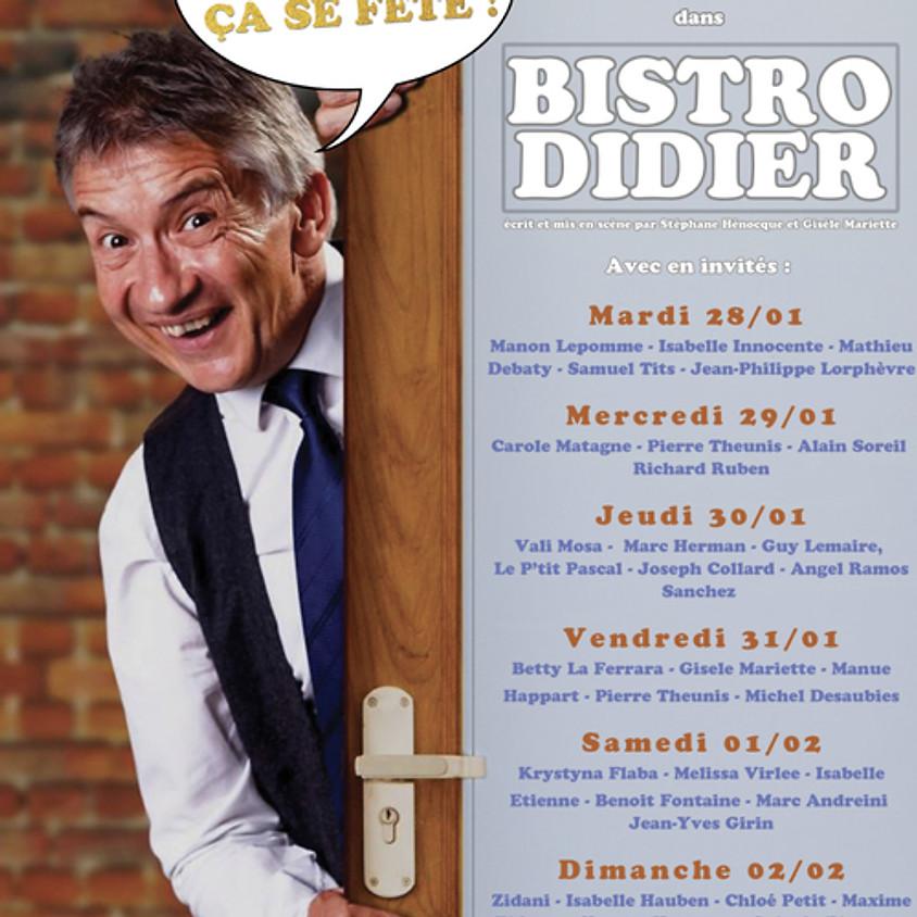 30 ans de scene de Didier Boclinville