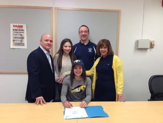 North Bergen's Jillian Jover signs with TCNJ