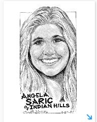 Athlete of the Week - Angela Saric