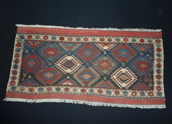 2.08 Caucasian Soumak Mafrash-Sidepanel