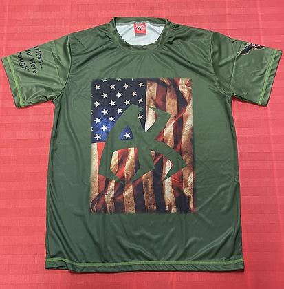 AmFlag AzKickr Shirt Green