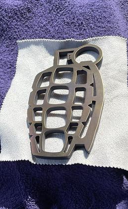 Grenuckles Ti Bottle Opener