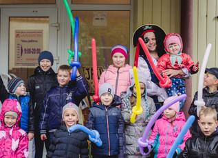 Детский праздник на Кремлёвской!