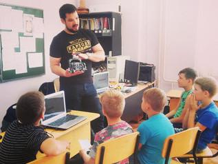 Робот-мастер-класс в 88 школе
