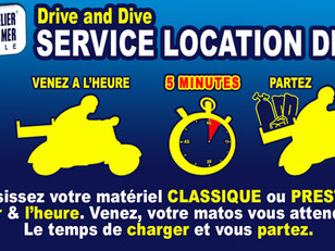 Service de location Drive and Dive