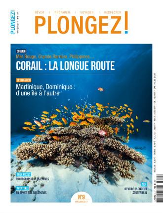 Couverture magazine PLONGEZ! N°9 Mai-Juin 2017