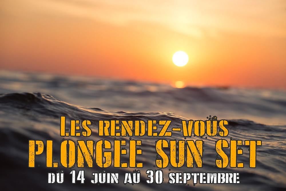 Plongez au coucher de soleil à Marseille avec les rendez-vous plongée SUN SET de L'Atelier de la Mer