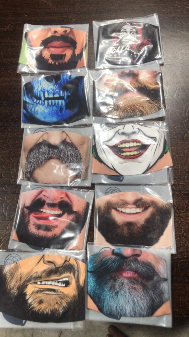 Designed Face Mask (60 pcs)