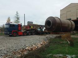 Демонтажные работы линии сушки и грануляции жома на Кирнасовском с / з