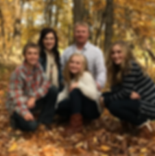 Ben Rudrud and his wife and kids